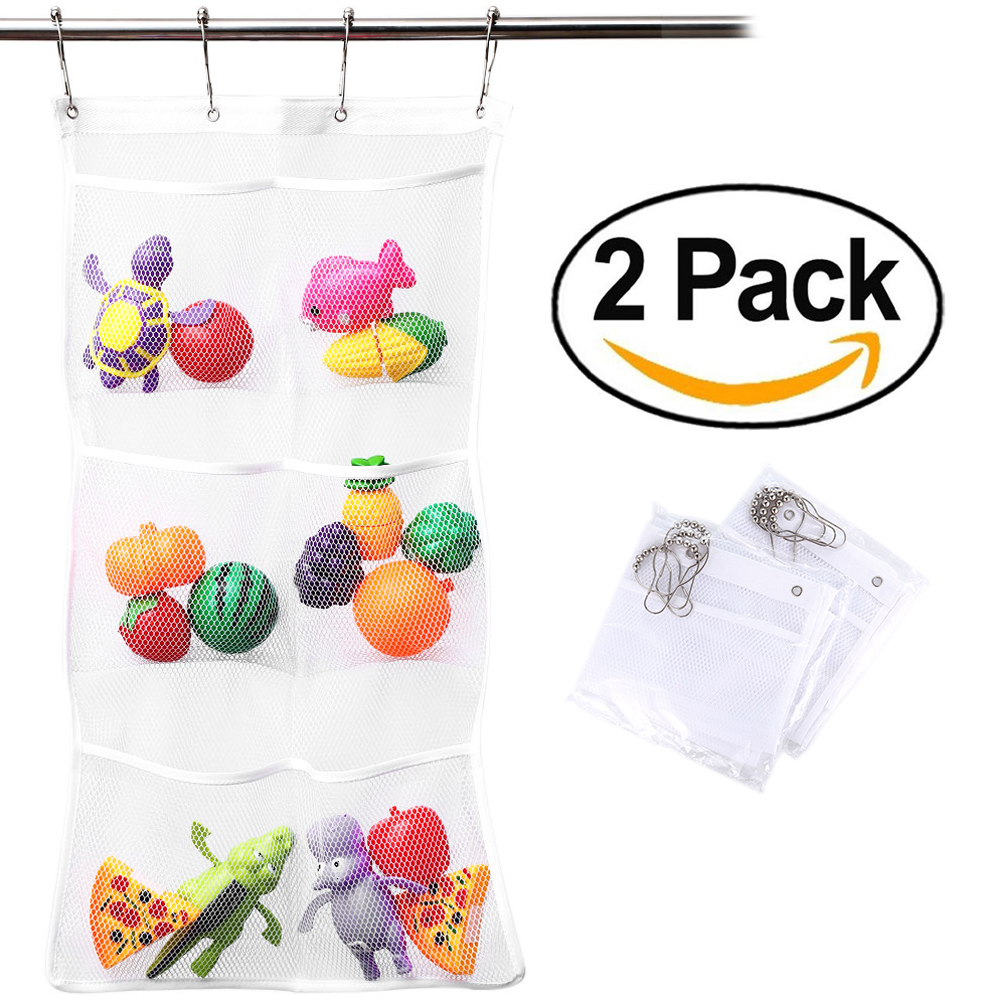 Shower Organizer, Quick Dry Hanging Caddy And Bath Organizer With 6 Pocket,  Hang