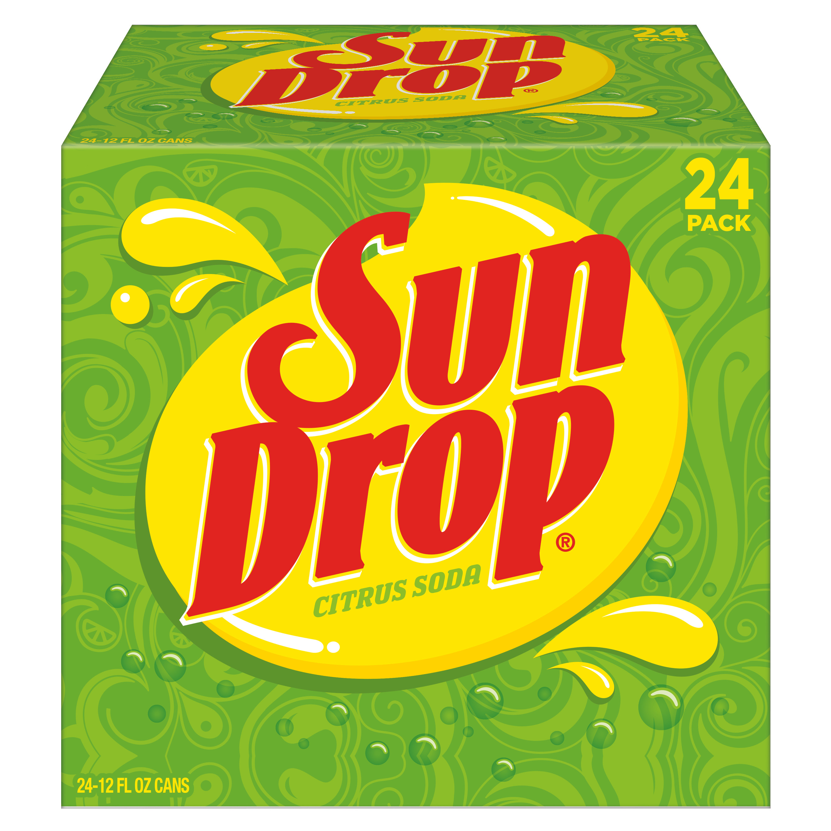 Sun Drop, 12 fl oz, 24 pack