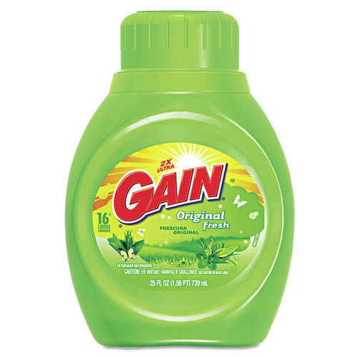 Gain Liquid Laundry Detergent - 25 Oz / 6 per Case