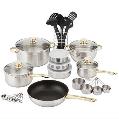 Cookpro 552 Cook Pro 552 Cookware Set 31 Pc 18 10 With Encapsulated Base
