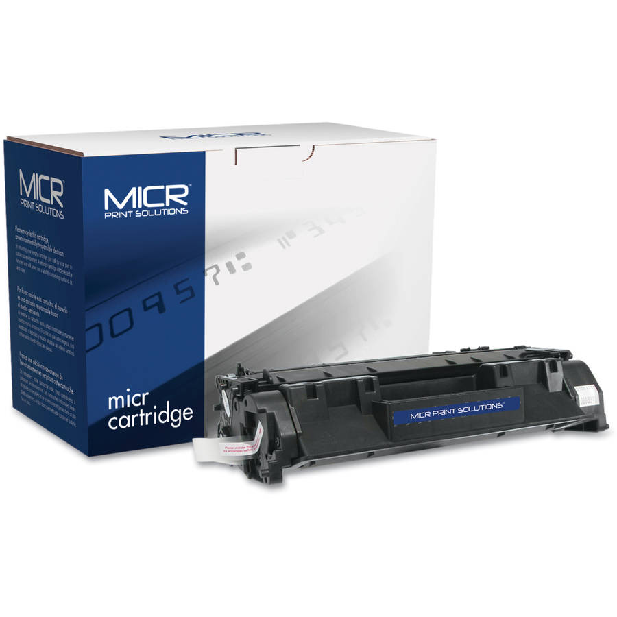 MICR Print Solutions Compatible with CE505AM MICR Black Toner Cartridge