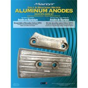 Martyr Anode Kit For Volvo Penta DPH Engine (Contains 1-3588745, 1-3863206 and Fastening Hardware)