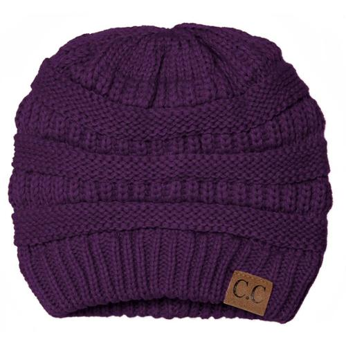 Thick Knit Soft Stretch Beanie Cap