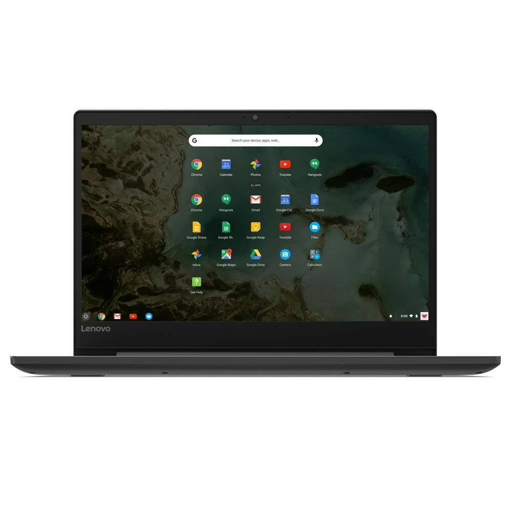 "Lenovo 81JW0001US Chromebook S330, 14"" HD Display, Mediatek MT8173C CPU 4GB RAM, 32GB eMMC SSD, Chrome OS, Black"