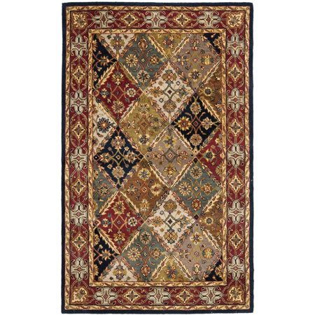 Safavieh Heritage 11' X 17' Hand Tufted Wool Pile Rug in Green and Red - image 1 of 1