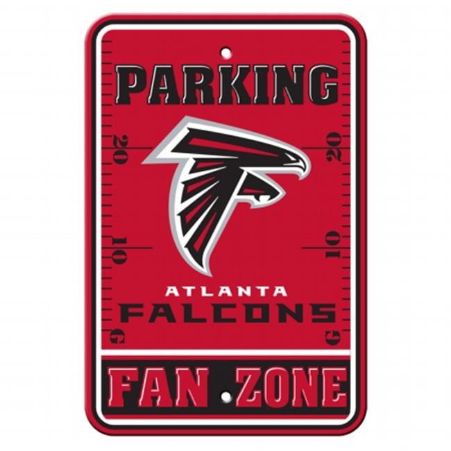 Fremont Die  92220 Plastic Parking Sign- Atlanta Falcons
