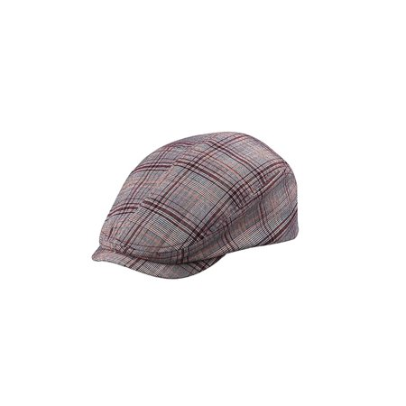 Fashion Plaid Ivy Cap, Large