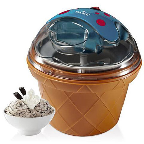 Rival Gel Canister Ice Cream Maker, Blueberry