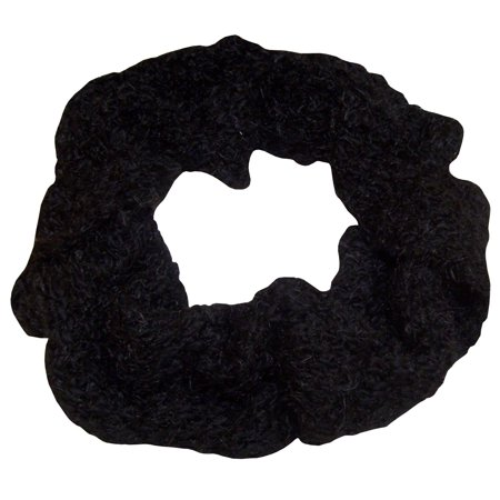 NICE CAPS Womens Iceland Yarn And Feather Circle Infinity Scarf For Winter Snow Cold Weather - Fits Ladies Adults Sizes