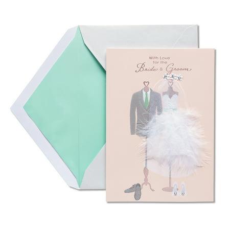 - American Greetings Happy Day Wedding Congratulations Card with Rhinestones