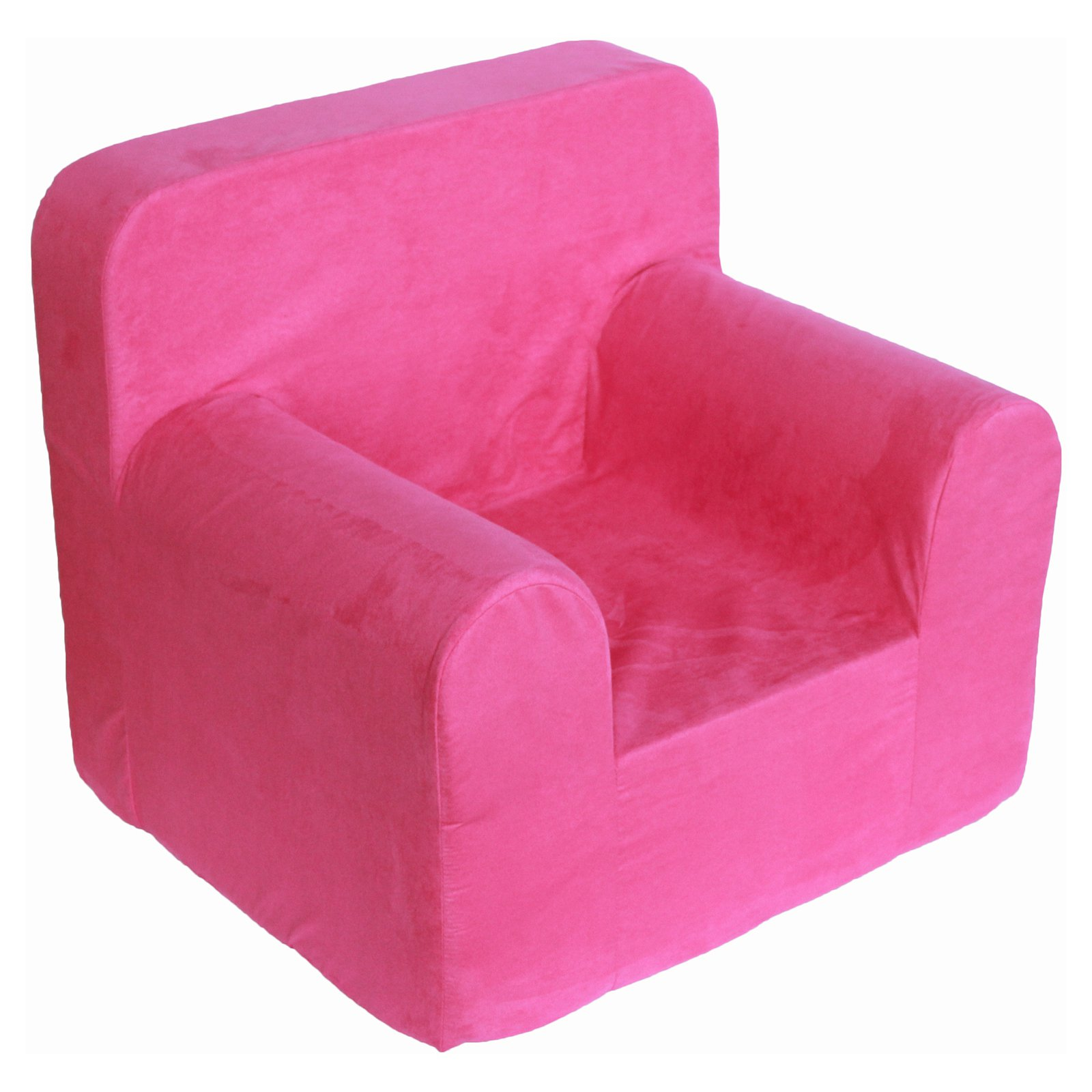 Sanford Magenta Microfiber Kids Bitty Chair