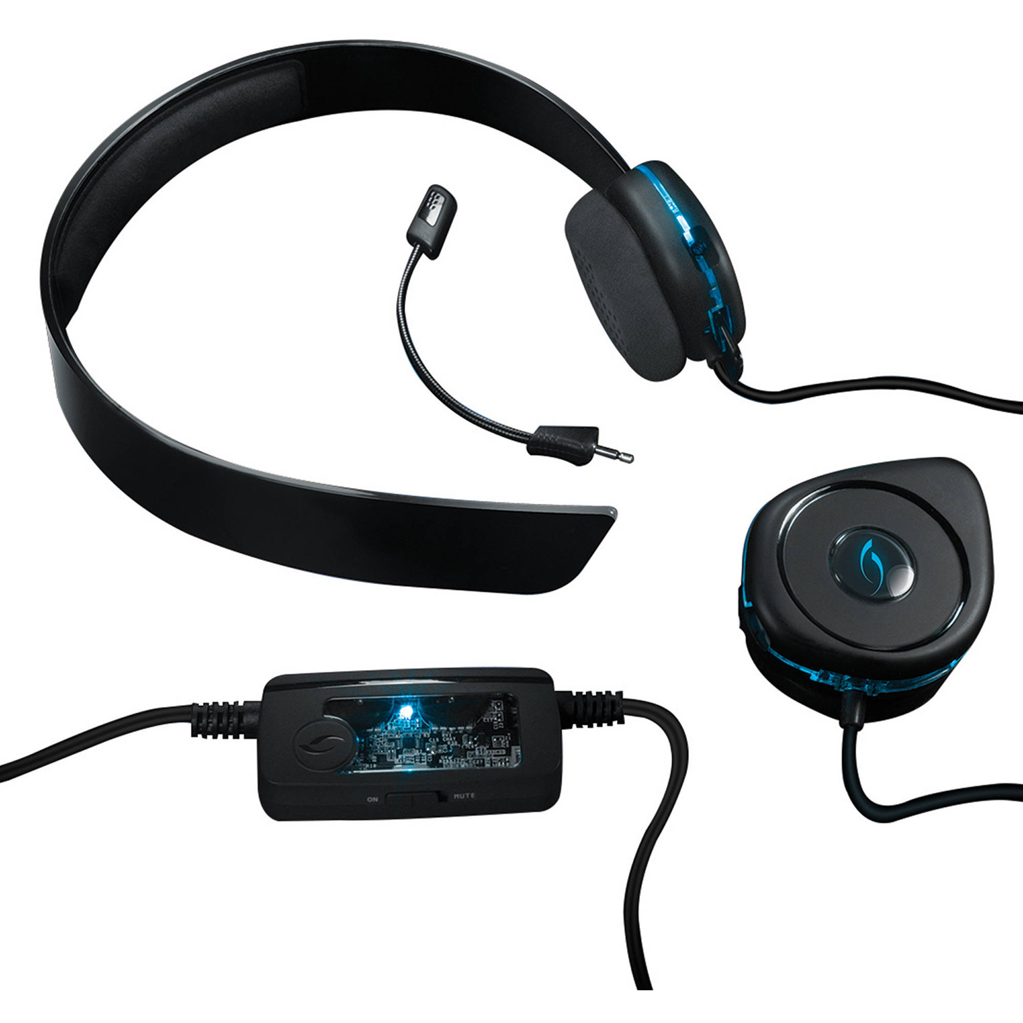 Pdp Afterglow Axg.40 Wired Gaming Headset - Walmart.com