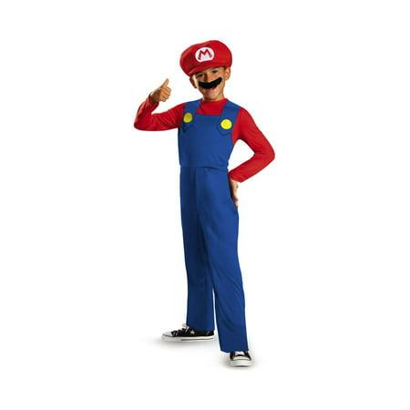 Boys Super Mario Costume (Super Mario Bros Boys Classic)