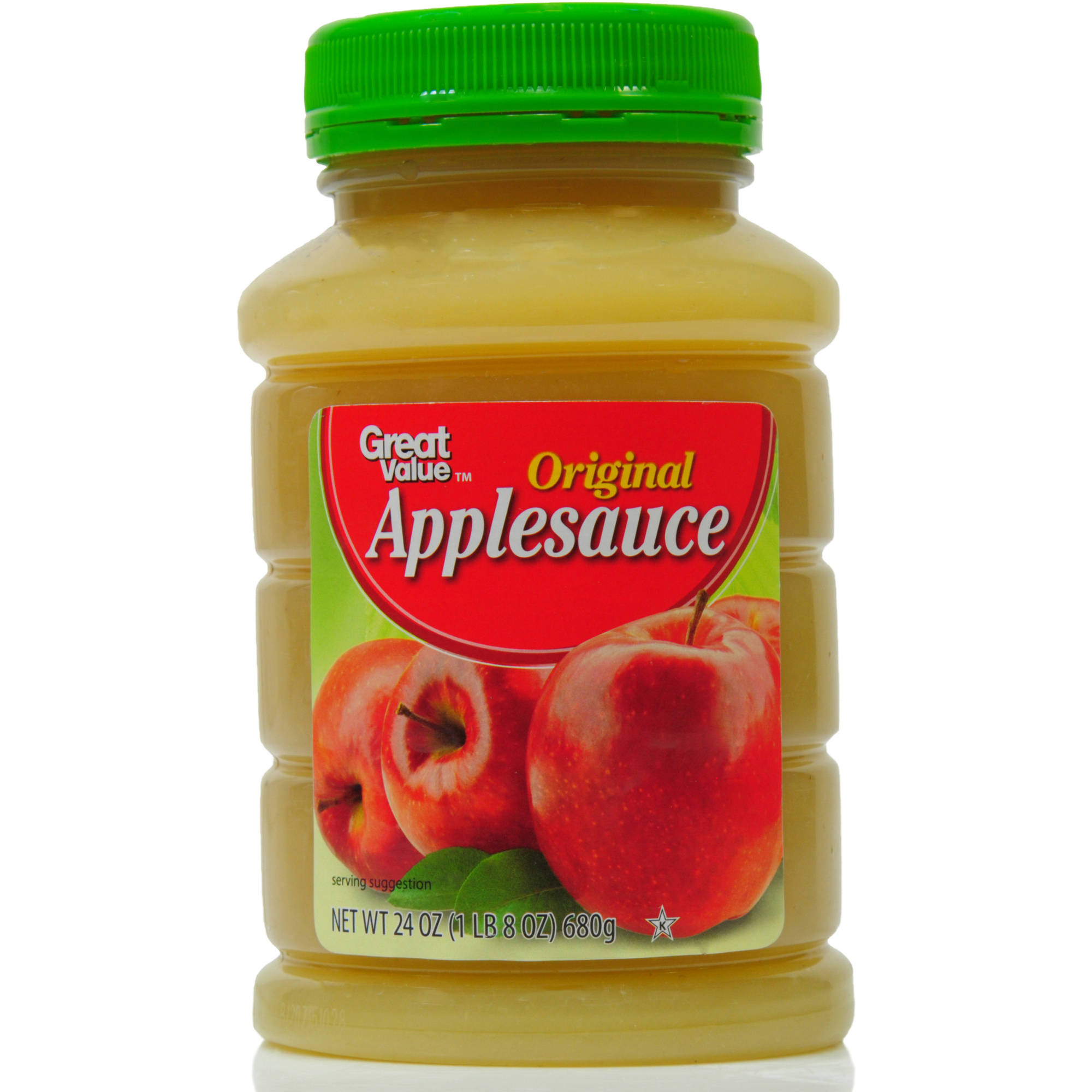 Great Value Original Applesauce, 24 oz