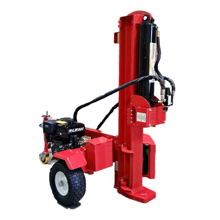 50 Ton Log Wood Splitter Hydraulic 15HP Gas Engine - Cutting Wedge - Electric Start - Ball Hitch - 1 Year Parts (Central Machinery 5 Ton Log Splitter Parts)