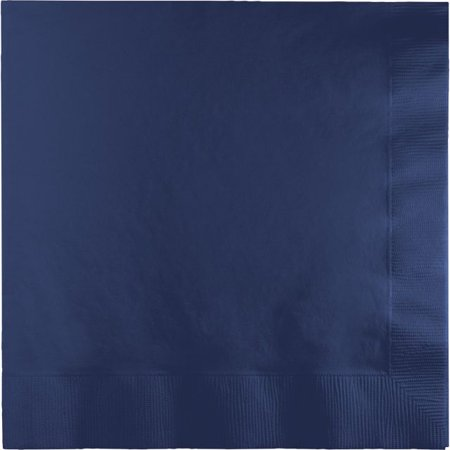 Touch of Color Lunch Napkins, 3-Ply, Navy, 50 Ct