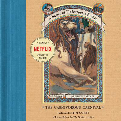 Series of Unfortunate Events #9: The Carnivorous Carnival - Audiobook - Carnival Cruise Halloween Events