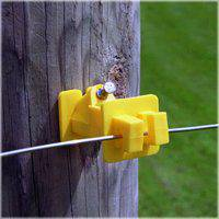 Fi-Shock IWNY-FS Electric Fence Insulators, Wood Post