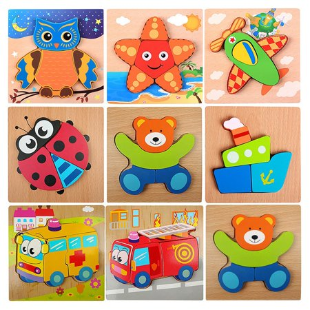 Easy-life Jigsaw Puzzle Thickening Young Children Baby ...