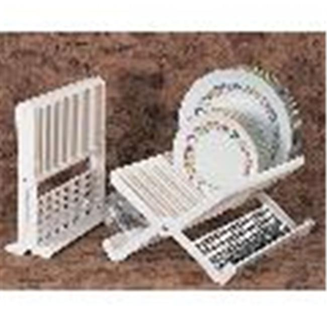 Bulk Savings 323923 Folding Dish Rack- Pack of 6