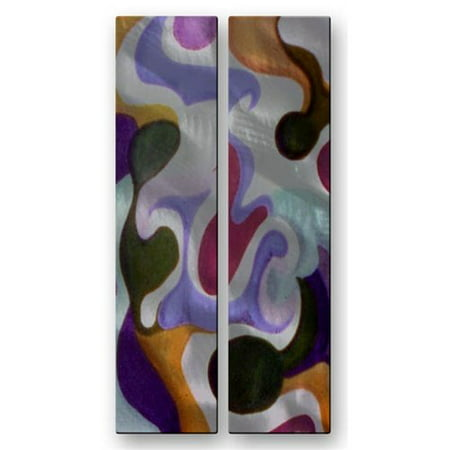All My Walls 'Thailand' by Darlene Navor 2 Piece Graphic Art Plaque Set