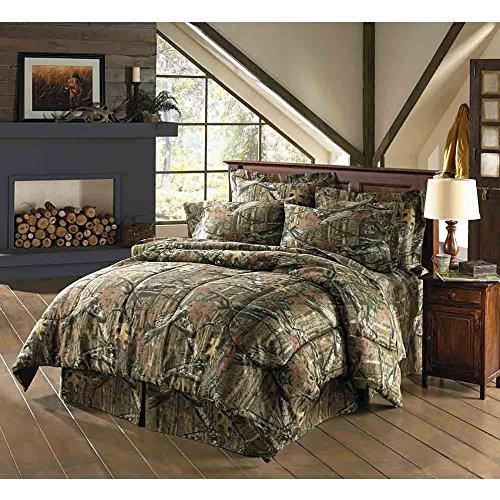 Mossy Oak Break Up Infinity Camouflage Full Comforter Set Walmart Com
