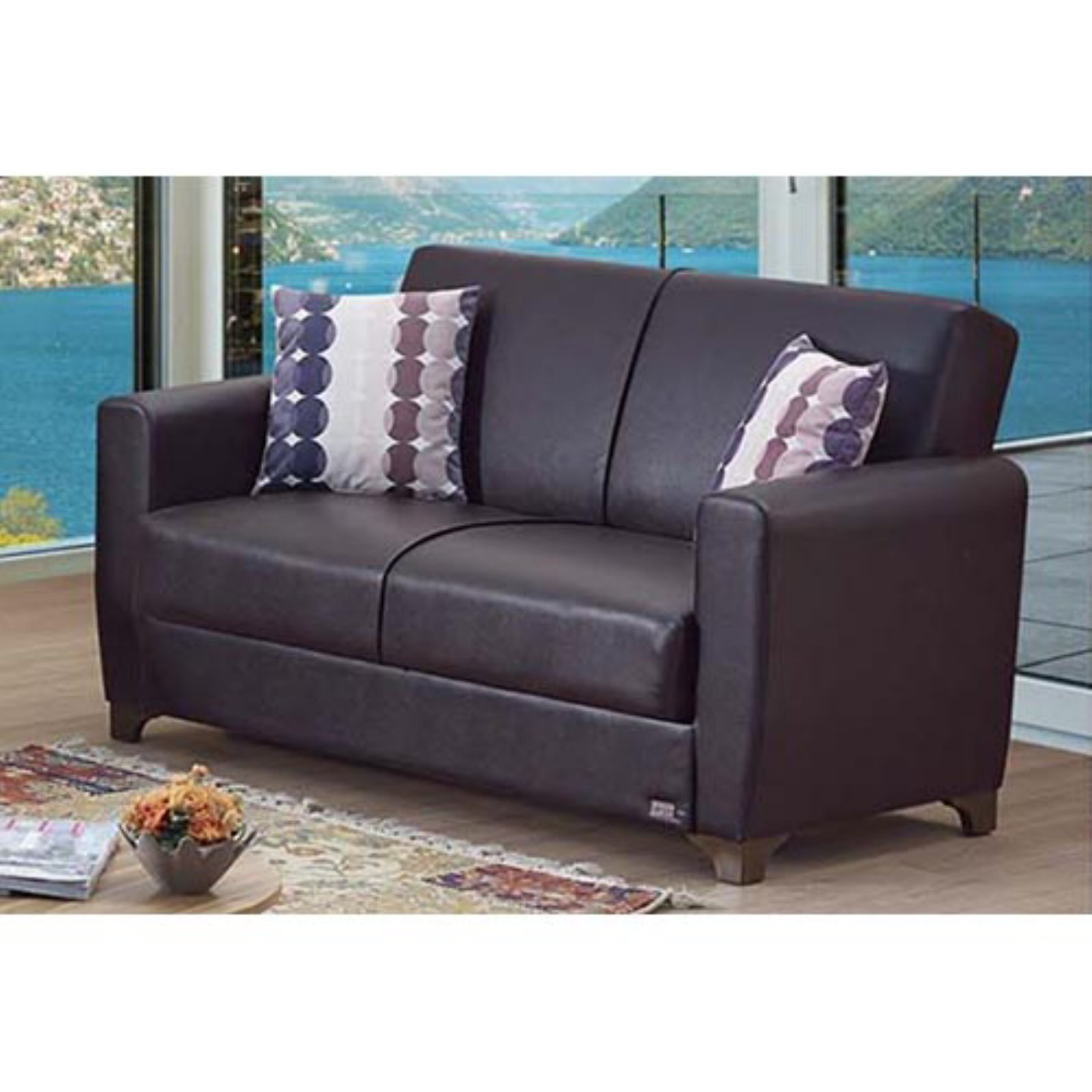 Empire Furniture USA Queens Convertible Loveseat