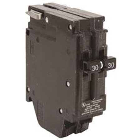 New Challenger MH230 Type-A Replacement. Two Pole 30 Amp Clip Circuit Breaker Manufactured by Connecticut Electric.