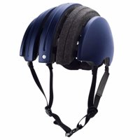 Brooks Carrera Packable - J.B. Collection Dark Blue/Grey Tartan Foldable Helmet Size M