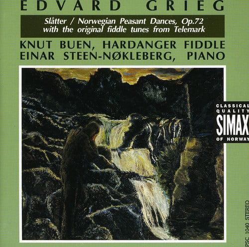 E. Grieg - Grieg: Sl Tter; Norwegian Peasant Dances [CD]