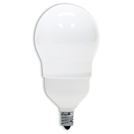 78937 Energy Smart CFL 11-Watt (40-watt replacement) 505-Lumen A17 Light Bulb with Candelabra Base, 1-Pack, 11-Watt Light Source that replaces a 40-Watt.., By GE Lighting Ship from US