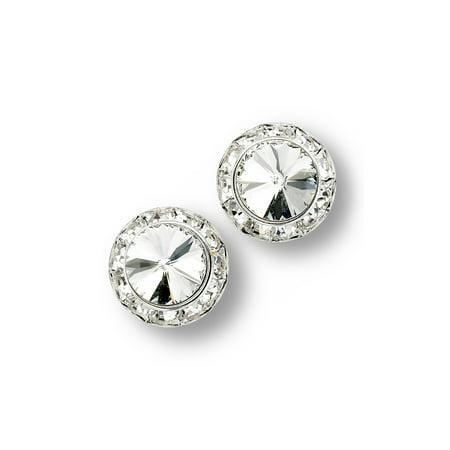 Glamour Dess Jewelry Er103cs Clip On Rhinestone Earrings Dance 11mm Rivoli