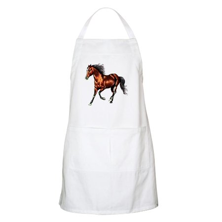 - CafePress - Cantering Bay Horse Apron - Kitchen Apron with Pockets, Grilling Apron, Baking Apron
