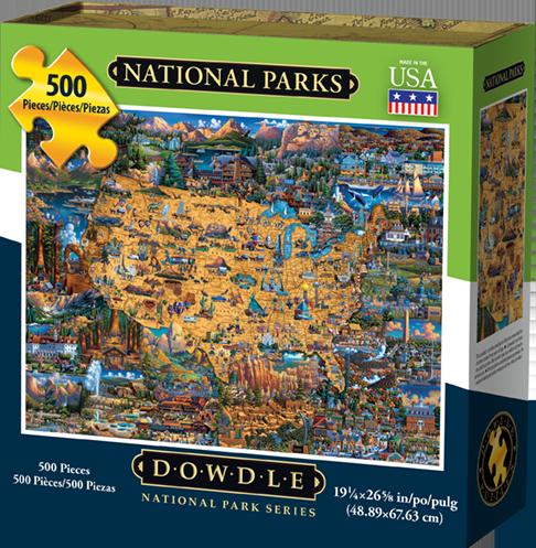 Dowdle Jigsaw Puzzle National Park 500 Piece by Dowdle Folk Art