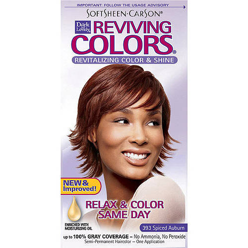Dark & Lovely Reviving Colors Nourishing Hair Color & Shine