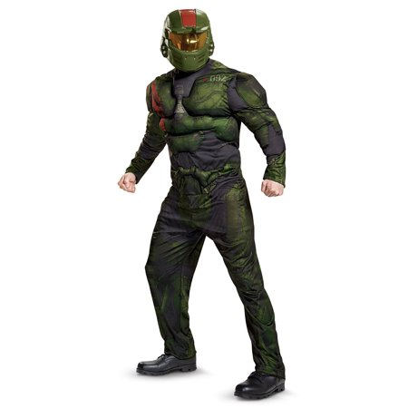 Halo Wars 2 Jerome Muscle Adult Costume - Halo Covenant Costumes
