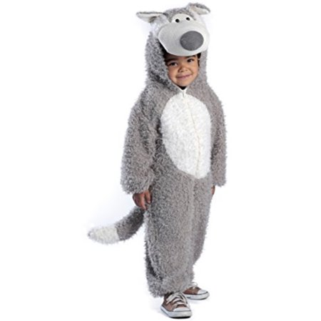 Princess Paradise Baby Boys' Big Bad Wolf Deluxe Costume, As Shown, 18M/2T (Wolf Costume Baby)