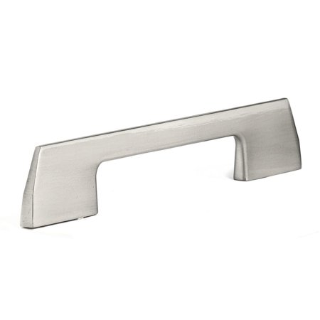 (5-Pack) Contemporary 5-1/32 in. (128 mm) Brushed Nickel Cabinet (Richelieu Nickel Pull)