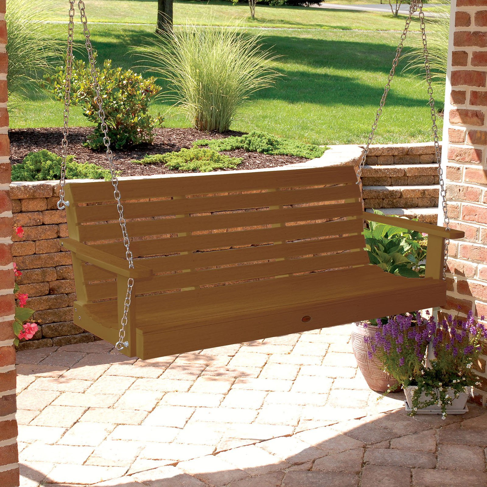 highwood Weatherly Recycled Plastic Porch Swing by Highwood-USA