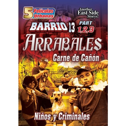 Arrabales (5 Peliculas Urbanas) (Spanish) (Full Frame) by