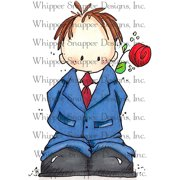 "Whipper Snapper Cling Stamp 4""X6""-Sweet Cole"
