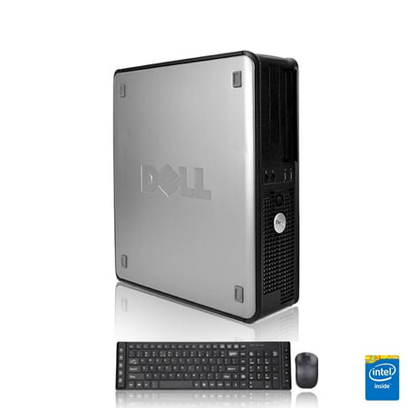 Refurbished - Dell Optiplex Desktop Computer 3.0 GHz Core 2 Duo Tower PC, 8GB, 160GB HDD, Windows 10 Home x64, Radeon 128MB DDR2, USB Mouse & Keyboard