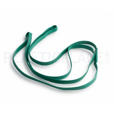 Plasticplace Rubber Bands for 12-16 Gallon Trash Can - 5 Pack ()