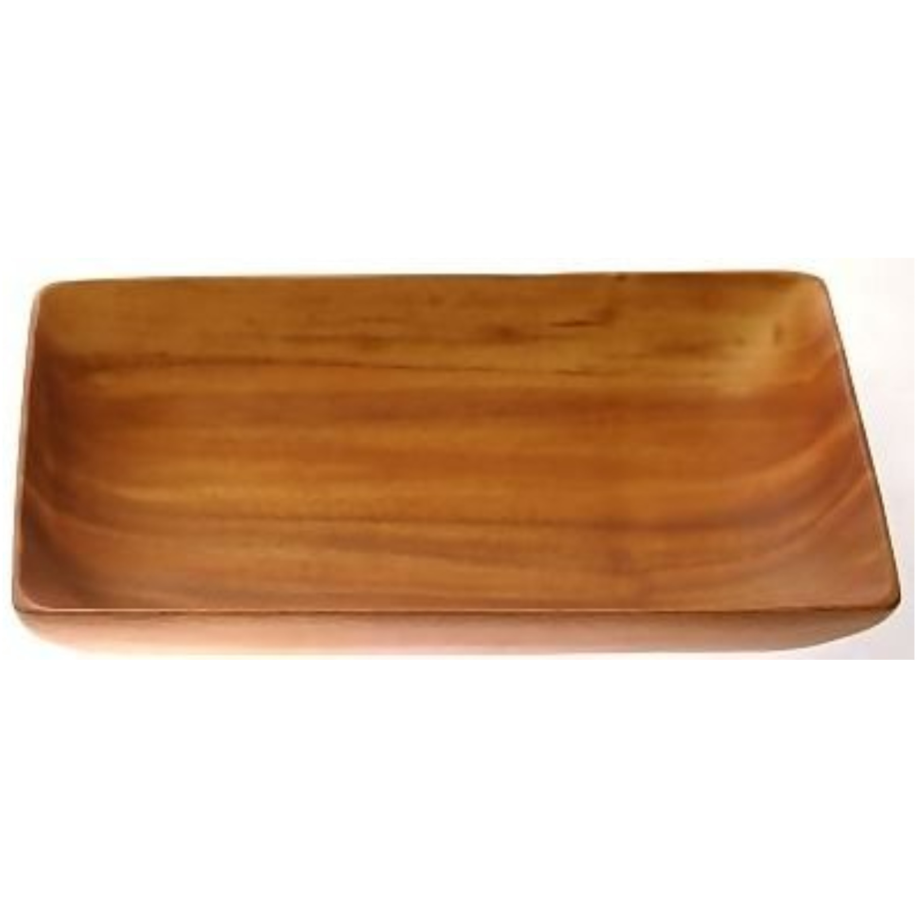 "Acacia Wood Serving Bowl 2"" x 6"" x 10"" by Islander"
