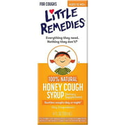 Little Remedies Honey Cough Syrup 4 oz (Pack of 3)
