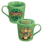 MyPartyshirt Teenage Mutant Ninja Turtles 'Turtle Time' Coffee Mug