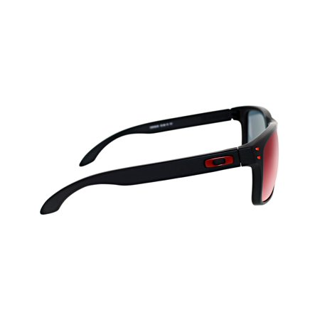 7c3fe63572a4b Oakley Men s Mirrored Holbrook OO9102-36 Black Square Sunglasses - image 1  ...