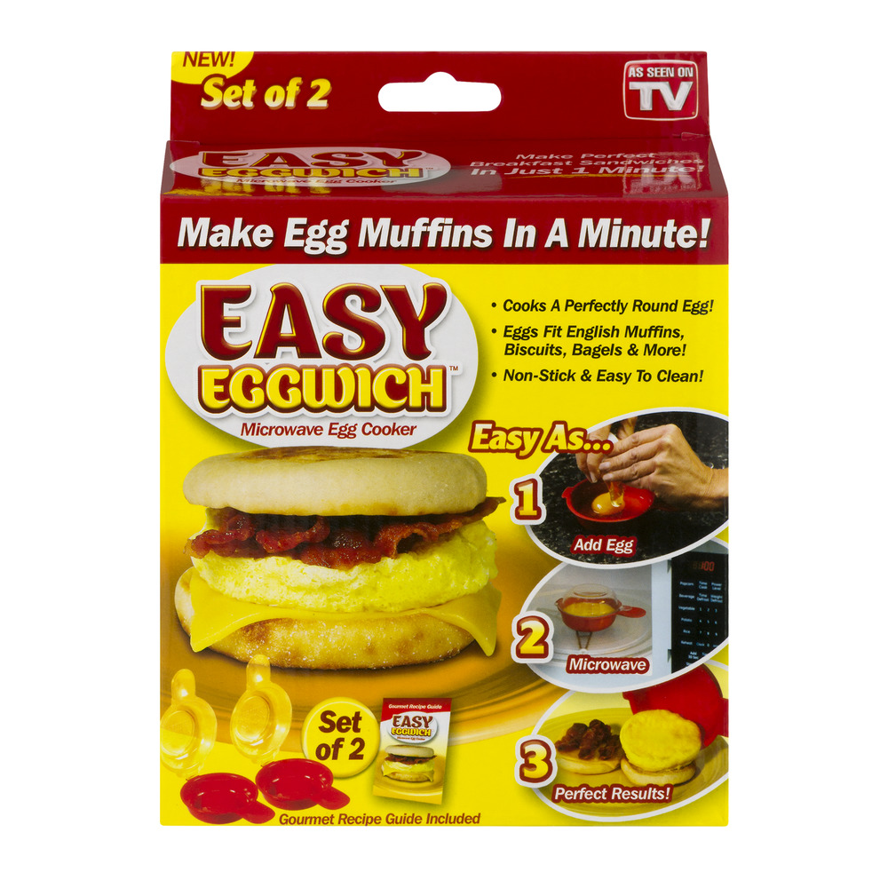 Easy Eggwich Microwave Egg Cooker - 2 CT