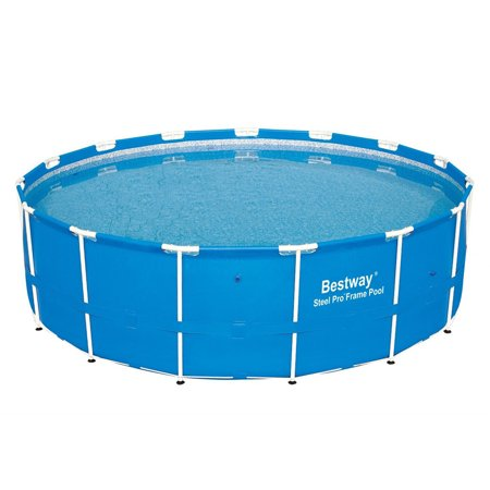 Bestway 12752 Steel Pro 15 Foot x 48 Inch Round Frame Above Ground Swimming (Best Way To Make Money Playing Craps)