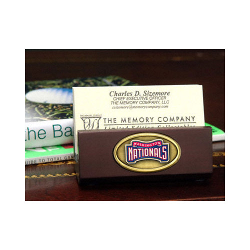 MLB - Washington Nationals Business Card Holder